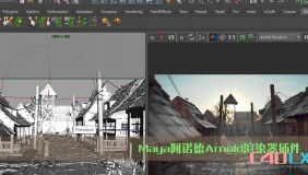 Maya阿诺德Arnold渲染器插件 MtoA SolidAngle Maya To Arnold v3.0.1.1 For Maya 2016-2018 Wi