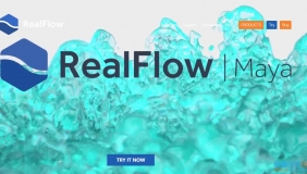 RealFlow Maya流体模拟插件 NextLimit RealFlow 1.1.2 for Maya 2017/2018 Win破解版