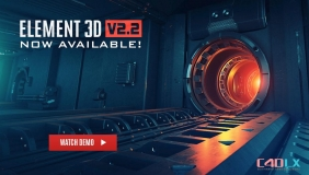 AK E3D插件 Video Copilot Element 3D v2.2.2.2160 CS5-CC 2018 Win/Mac破解版