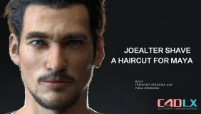 Maya真实毛发模拟制作插件 JoeAlter Shave And A Haircut v9.6v7 For Maya 2016-2018 Win/Mac/Li